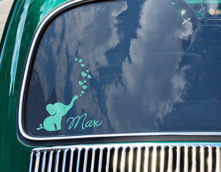Baby Auto Aufkleber Zum Online Gestalten Und Bestellen