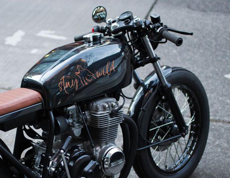 Motorrad Aufkleber Online Gestalten Und Bestellen